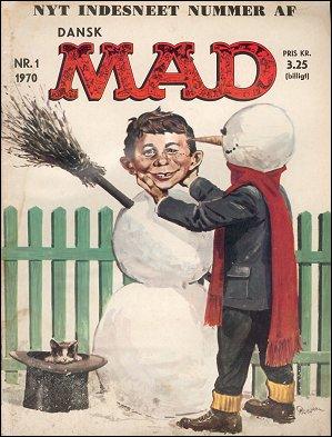 MAD Magazine #1 • Denmark • 1st Edition - Williams