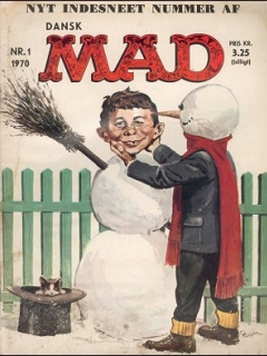 Go to MAD Magazine #1 1969 • Denmark • 1st Edition - Williams