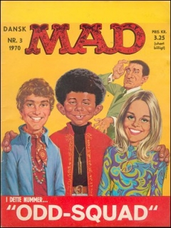 Go to MAD Magazine #3 1969 • Denmark • 1st Edition - Williams