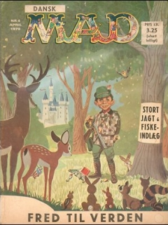 Go to MAD Magazine #4 1969 • Denmark • 1st Edition - Williams