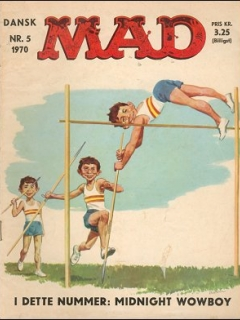Go to MAD Magazine #5 1969 • Denmark • 1st Edition - Williams