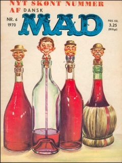 Go to MAD Magazine #6 1969 • Denmark • 1st Edition - Williams
