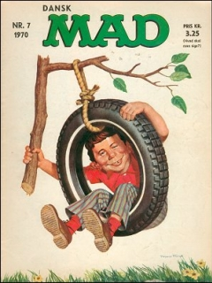 Go to MAD Magazine #7 1969 • Denmark • 1st Edition - Williams