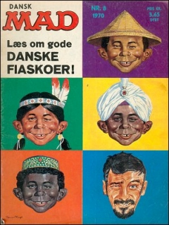 Go to MAD Magazine #8 1969 • Denmark • 1st Edition - Williams