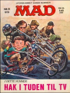 Go to MAD Magazine #9 1969 • Denmark • 1st Edition - Williams