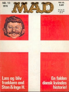 Go to MAD Magazine #10 1969 • Denmark • 1st Edition - Williams