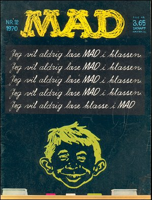 MAD Magazine #12 • Denmark • 1st Edition - Williams
