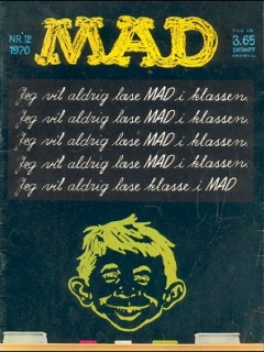 Go to MAD Magazine #12 1969 • Denmark • 1st Edition - Williams