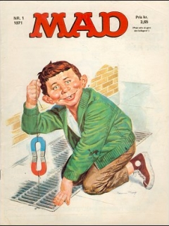 Go to MAD Magazine #1 1970 • Denmark • 1st Edition - Williams