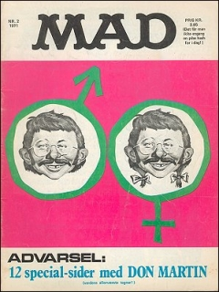 Go to MAD Magazine #2 1970 • Denmark • 1st Edition - Williams