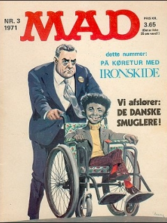Go to MAD Magazine #3 1970 • Denmark • 1st Edition - Williams
