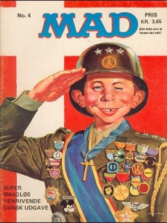 Go to MAD Magazine #4 1970 • Denmark • 1st Edition - Williams