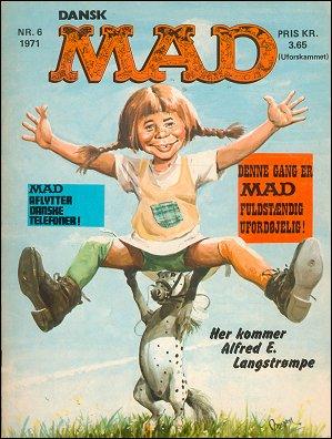 MAD Magazine #72 • Denmark • 1st Edition - Williams