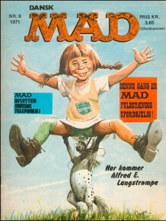 Go to MAD Magazine #6 1970 • Denmark • 1st Edition - Williams