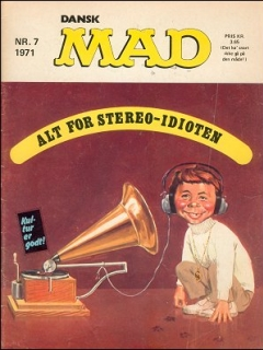 Go to MAD Magazine #7 1970 • Denmark • 1st Edition - Williams
