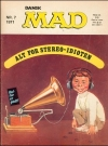 MAD Magazine #7 1970 • Denmark • 1st Edition - Williams