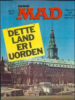 Go to MAD Magazine #8 1970 • Denmark • 1st Edition - Williams