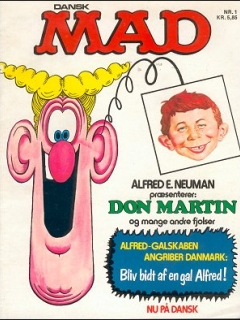 MAD Magazine #1 (Denmark)