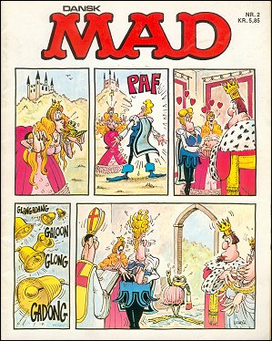 MAD Magazine #2 • Denmark • 2nd Edition - Semic
