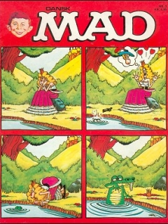MAD Magazine #3 • Denmark • 2nd Edition - Semic