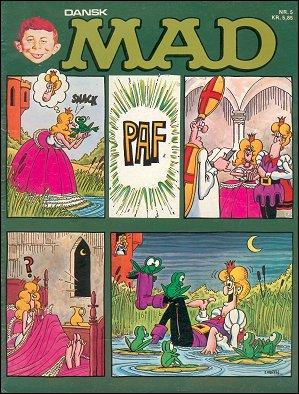 MAD Magazine #5 • Denmark • 2nd Edition - Semic