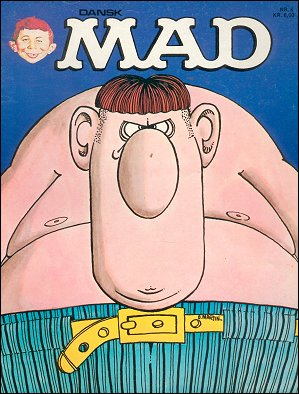 MAD Magazine #8 • Denmark • 2nd Edition - Semic