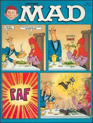 MAD Magazine #9 • Denmark • 2nd Edition - Semic