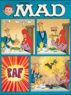 MAD Magazine #9 • Denmark • 2nd Edition - Semic