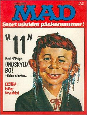 MAD Magazine #11 • Denmark • 2nd Edition - Semic