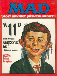 Go to MAD Magazine #11 • Denmark • 2nd Edition - Semic