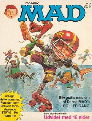 MAD Magazine #14 • Denmark • 2nd Edition - Semic