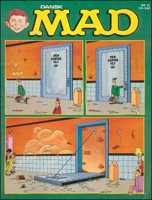 MAD Magazine #15 • Denmark • 2nd Edition - Semic