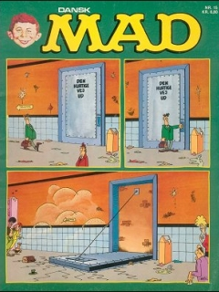 Go to MAD Magazine #15 • Denmark • 2nd Edition - Semic