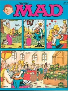 Go to MAD Magazine #16 • Denmark • 2nd Edition - Semic