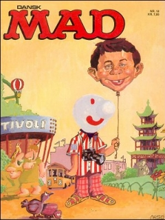 Go to MAD Magazine #18 • Denmark • 2nd Edition - Semic