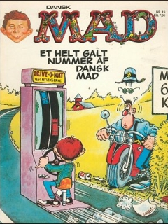 Go to MAD Magazine #19 • Denmark • 2nd Edition - Semic