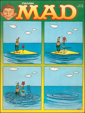 MAD Magazine #20 • Denmark • 2nd Edition - Semic