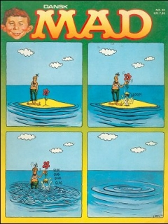 Go to MAD Magazine #20 • Denmark • 2nd Edition - Semic