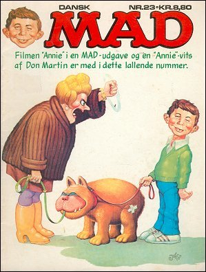 MAD Magazine #23 • Denmark • 2nd Edition - Semic