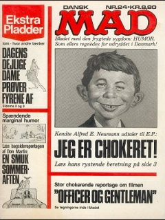 Go to MAD Magazine #24 • Denmark • 2nd Edition - Semic