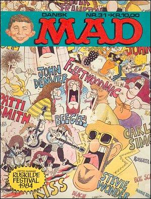 MAD Magazine #31 • Denmark • 2nd Edition - Semic