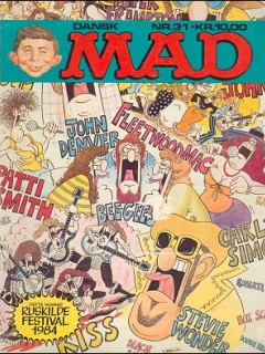Go to MAD Magazine #31 • Denmark • 2nd Edition - Semic