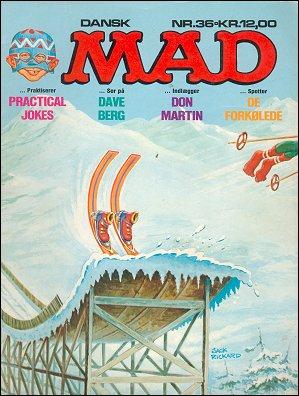 MAD Magazine #36 • Denmark • 2nd Edition - Semic