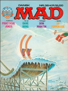 Go to MAD Magazine #36 • Denmark • 2nd Edition - Semic
