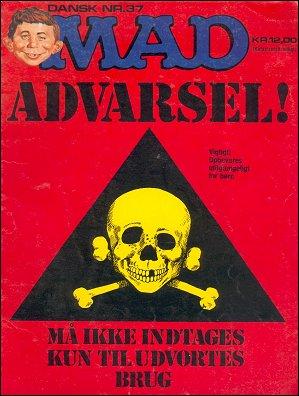 MAD Magazine #37 • Denmark • 2nd Edition - Semic