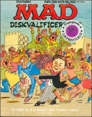 MAD Magazine #39 • Denmark • 2nd Edition - Semic