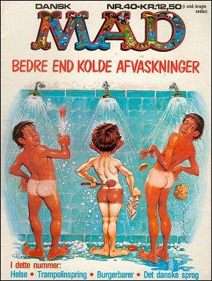 MAD Magazine #40 • Denmark • 2nd Edition - Semic