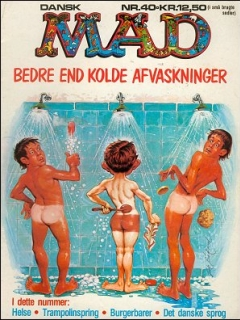 MAD Magazine #40 • Denmark • 2nd Edition - Semic