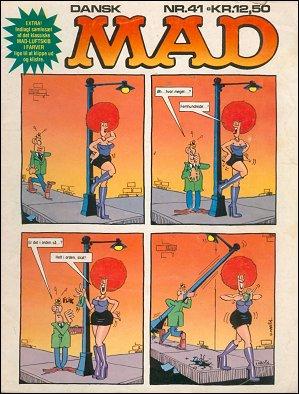 MAD Magazine #41 • Denmark • 2nd Edition - Semic