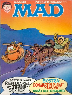 MAD Magazine #42 • Denmark • 2nd Edition - Semic